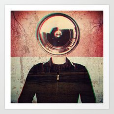 From another World! Art Print