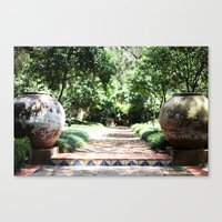 Well Urned  Canvas Print