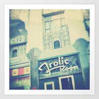 Frolic Room, Los Angeles… Art Print