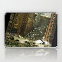 Water Vs City Laptop & iPad Skin