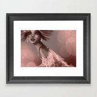 Millane Framed Art Print