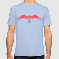 Larus Marinus Mens Fitted Tee Tri-Blue SMALL