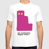 My Confussion Mens Fitted Tee White SMALL