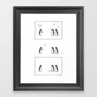 Short Legs  Framed Art Print