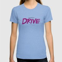 Drive (Classic) Womens Fitted Tee Athletic Blue SMALL