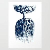 One Tree Planet *remastered* Art Print