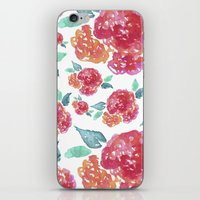 Pastel Spring Flowers Wa… iPhone & iPod Skin