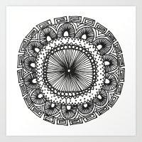 Mandala 1 Art Print