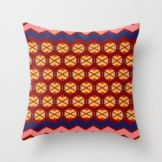 wayuu  pattern 2 Throw Pillow