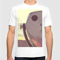 Viewfinder  Mens Fitted Tee White SMALL