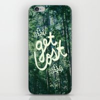 Get Lost X Muir Woods iPhone & iPod Skin