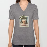 Tears In The Typing Pool… Unisex V-Neck