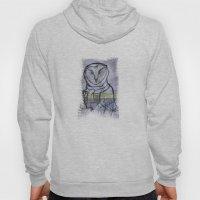 Gray Owl 01 Hoody