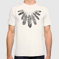 Offering Mens Fitted Tee Natural SMALL