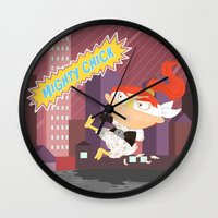 Mighty Chick Wall Clock