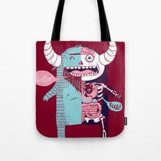 All Monsters are the Same Tote Bag
