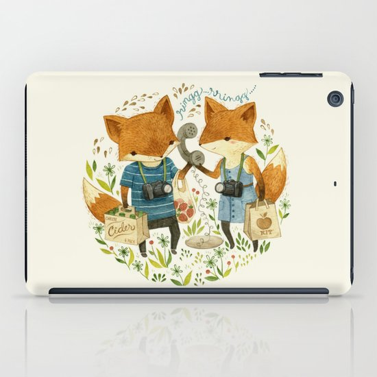 Fox Friends iPad Case