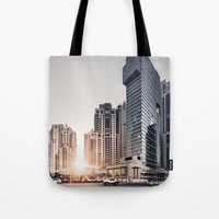 Dubai Sky Tote Bag