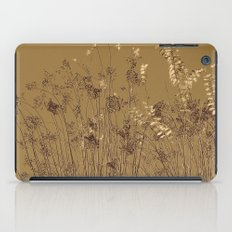 Thin Branches Sepia iPad Case