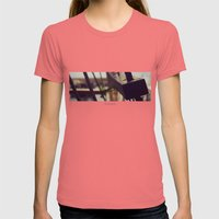 SET SAIL Womens Fitted Tee Pomegranate SMALL
