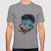 Hindu Boy Mens Fitted Tee Athletic Grey SMALL