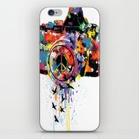 Paint DSLR iPhone & iPod Skin