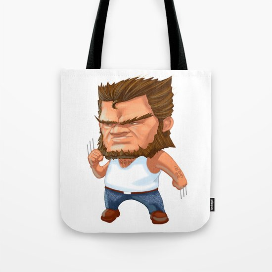 Mini Wolverine Tote Bag