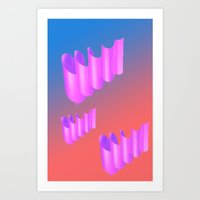 twirps 2 Art Print