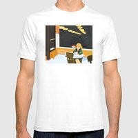Automat By Hopper Mens Fitted Tee White SMALL