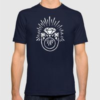Ring Mens Fitted Tee Navy SMALL