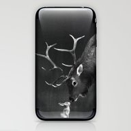 Elk And Rabbit iPhone & iPod Skin