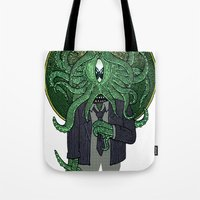 Eye Of Cthulhu Tote Bag
