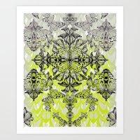 Butterfly Tail Art Print
