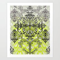 Butterfly Tail Art Print