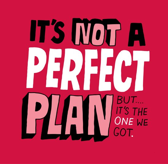 Not a Perfect Plan Art Print