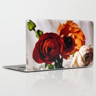 Pretty Flower Trio Laptop & iPad Skin