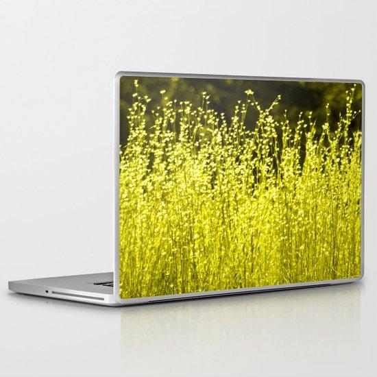Grasses 2 Summer Sun Laptop & iPad Skin