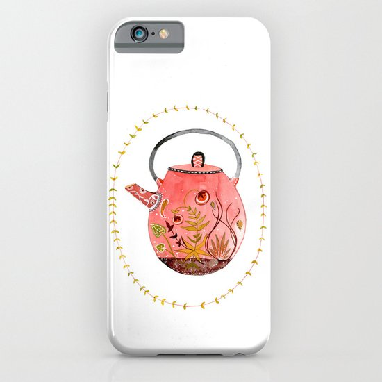 teapot terrarium iPhone & iPod Case