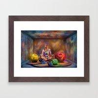 Seelenpflege Framed Art Print