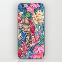 Koi Pond iPhone & iPod Skin