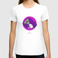 Wireless Woofer Womens Fitted Tee White SMALL