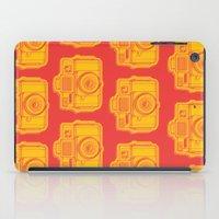 I Still Shoot Film Holga Logo - Reversed Yellow & Red iPad Case