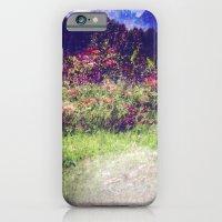Flowers Plastic Camera Double Exposure iPhone 6 Slim Case