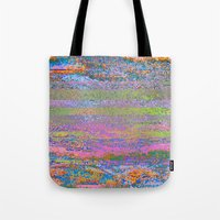 51-23-76 (Pastel Rainbow Glitch) Tote Bag