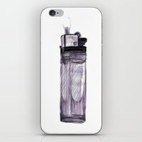 Briquet iPhone & iPod Skin