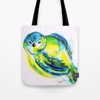 Little Birdy Tote Bag