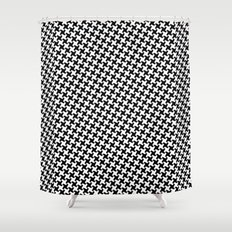 Houndstooth (Pepita) Shower Curtain
