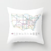 Interstate Throw Pillow