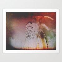 Trafalgar Abstraction Art Print