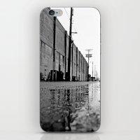 Gritty Urban Alley iPhone & iPod Skin